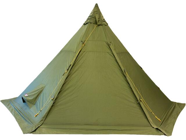 Helsport Pasvik 6-8 - Tente - + Pole olive